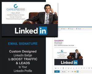 LinkedIn Badge by Careers2000.net