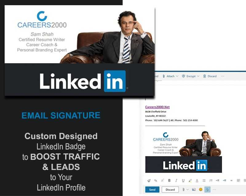 LinkedIn Badge by Careers2000.net
